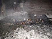 V Rožnově hořely kontejnery