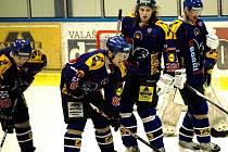 Druholigoví hokejisté Valašského Meziříčí. Ilustrační foto