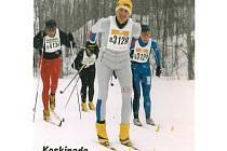 Vsetínský maratonec Jan Talaš na závodě Keskinada Loppet v roce 2004. DO Kanady se vrátí po jedenácti letech.
