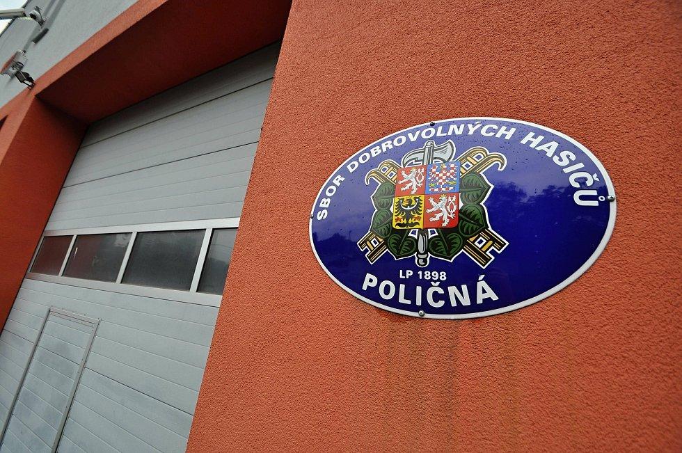 Poličná - hasičská zbrojnice