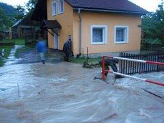 24. června zasáhla severní část Zlínského kraje silná průtrž mračen.