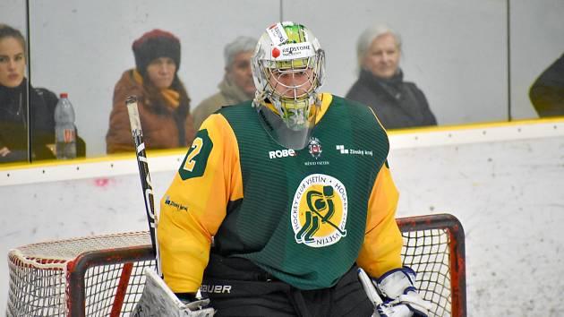 Brankář hokejistů Vsetína Jakub Málek