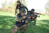Vojenské cvičení ve Valašském Meziříčí