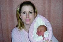 Michaela Horutová, Prostřední Bečva, dcera Michaela Horutová, hmotnost: 3,3 kg, narozena: 2. ledna 2010 ve Valašském Meziříčí