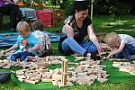 Jonáškovo zábavné odpoledne v zámeckém parku ve Valašském Meziříčí