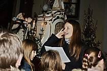 Mše na Štědrý den v římskokatolickém kostele Nanebevzetí Panny Marie ve Vsetíně 2019