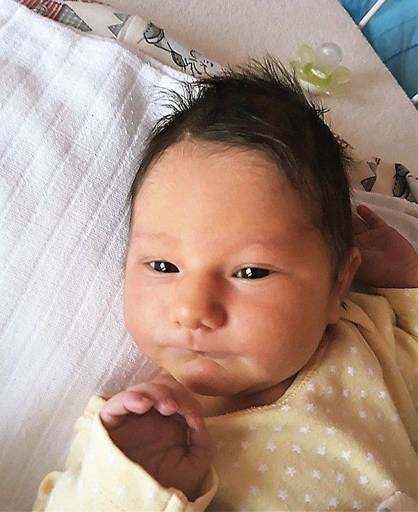 Izabela Žídková, Kunovice, narozena 19. listopadu 2020 ve Valašském Meziříčí, míra 59 cm, váha 2920 g