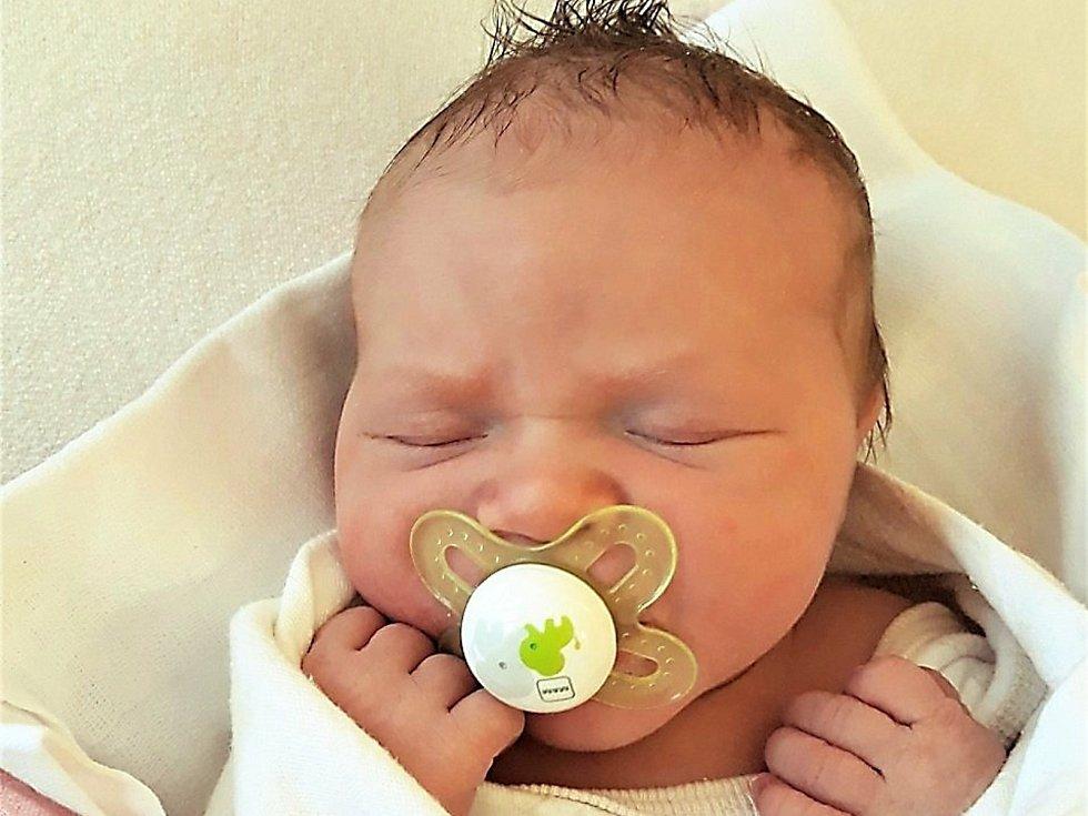 Sabina Wrzecká, Valašské Meziříčí, narozena 28. listopadu 2020 ve Valašském Meziříčí, míra 48 cm, váha 3350 g