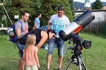 Srpnové oslavy 70 let vsetínské hvězdárny proběhly za tropických teplot.