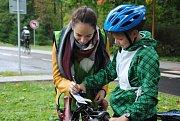 Sluchově postižení cyklisté zápolí ve dnech 5. a 6. října ve Valašském Meziříčí v mezinárodní dopravní soutěži.