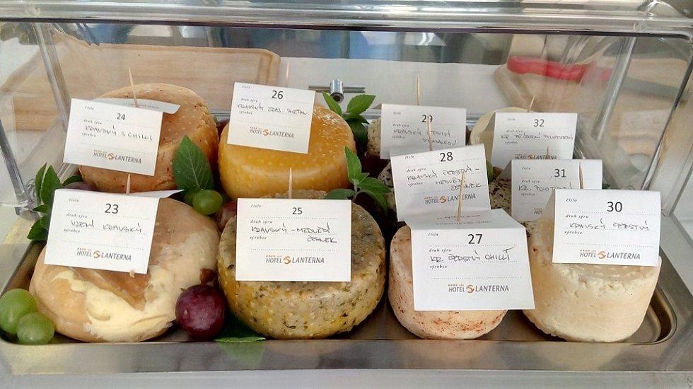 Soutěž O nejlepší valašský sýr.