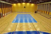 Sportovní hala Na Lapači ve Vsetíně.