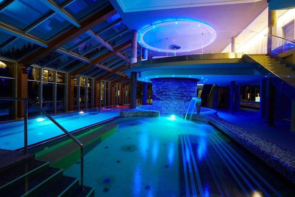 Wellness Horal: bazén.