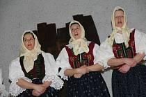 V pátek 18. dubna se v Lidovém domě v Halenkově sešli členové Svazu postižených civilizačními chorobami a jejich sympaatizanti. Františka pavlíčková ze Zubří vyrábí bílou valašskou krajku.