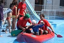 V pátek se v areálu vsetínské sokolovny konala Dětská regata.