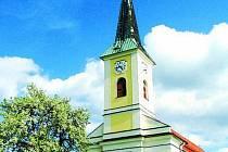 Farní kostel sv. Kateřiny.