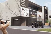 Plánovaná podoba obchodní galerie ve Vsetíně, jejíž investorem je firma Valatrans.