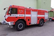 Sbor dobrovolných hasičů z Hutiska-Solance získal novou cisternovou stříkačku.