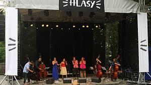 Festival Hlasy v amfiteátru Na Stráni v Rožnově pod Radhoštěm