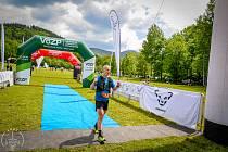 Tomáš Štverák v Lysohorském ultratrailu 2021