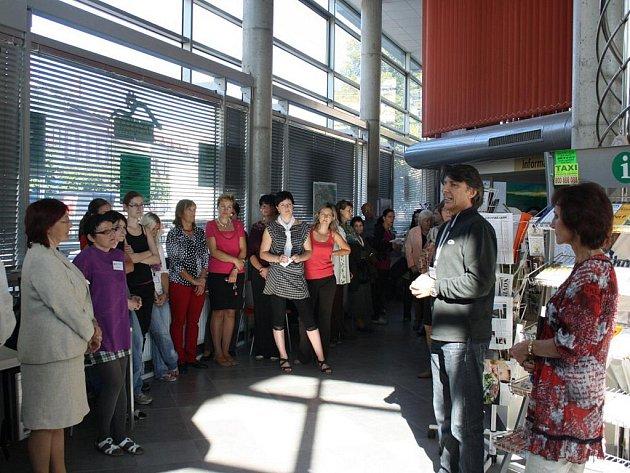 Zahájení oslav pětiletého výročí nové vsetínské knihovny