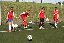 Fotbalový minikemp mládeže ve Valašském Meziříčí.
