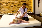 Thajská masáž.