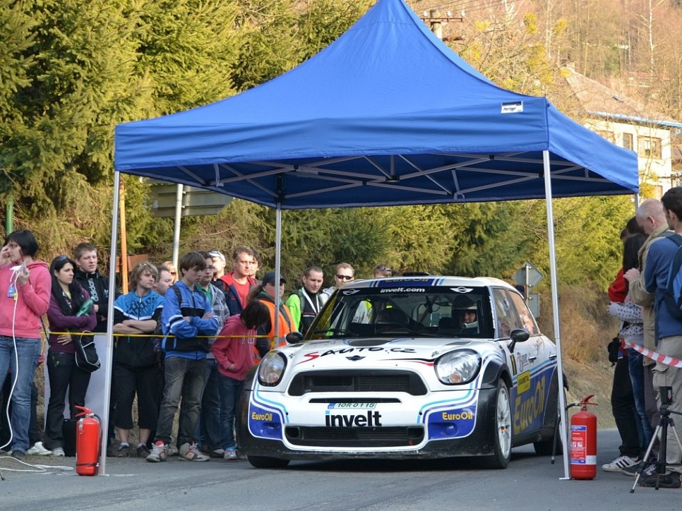 Momenty z Valašské rally 2012