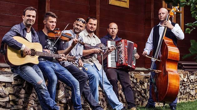 Folklorbeatová kapela Docuku z Valašského Meziříčí