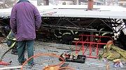 V sobotu ráno zasahovali hasiči ve Vsetíně Rokytnici. Zlikvidovali oheň v prodejně.