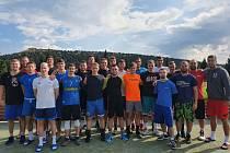 basketbalisté Valašského Meziříčí a Kroměříže před startem druholigové sezony 2021 - 2022.