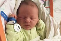 Jakub Jegla, Tvarožná Lhota, narozen 27. března v Uherském Hradišti, míra 50 cm, váha 3600 g