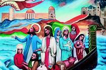 Karel Gott věnoval vsetínské Diakonii obraz Všichni svatí v Tsunami. Namaloval ho v roce 1995 pod dojmem ničivé vlny, která zasáhla Indonésii, kde byl na dovolené.