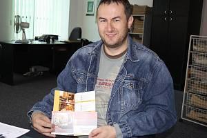Pavel Kovář ze Vsetína s poukazem na víkendový pobyt pro dva hosty v hotelu Baltaci ve Zlíně v hodnotě 9 tisíc korun.