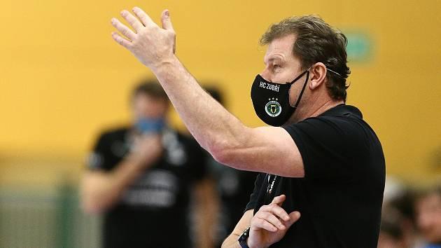 Trenér Zubří Michal Tonar starší