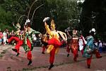 Soubory z Taiwanu, Francie a Kostariky, které se účastní 50. MFF Liptálské slavnosti, se ve čtvrtek 22. srpna 2019 představily divákům v Panské zahradě ve Vsetíně.