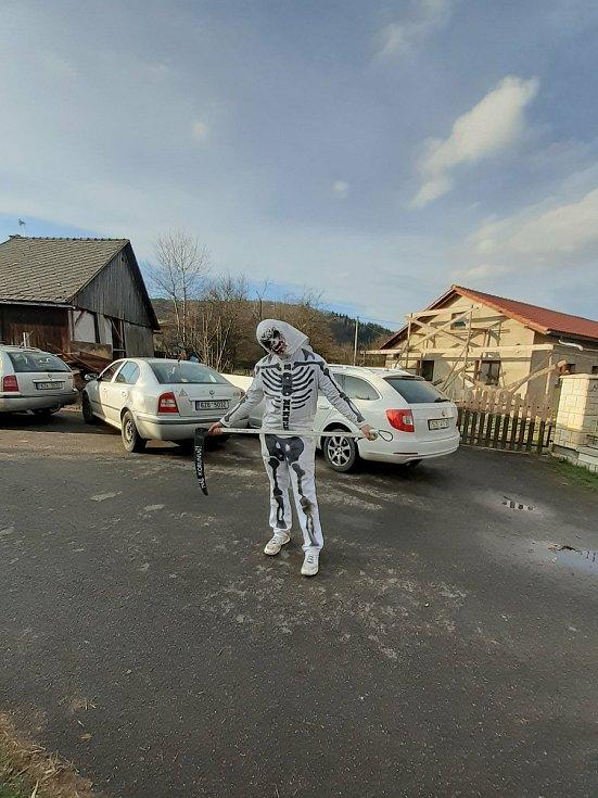 Pochůzka čertů na Valašsku. Lidečko, Horní Lideč, Valašská Polanka