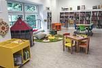 Uvnitř Městské knihovny Valašské Meziříčí