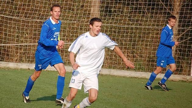 Fotbalisté Luhačovic. Ilustrační foto