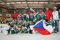 Mladí vsetínští hokejisté na turnaji mládeže World Tournament obsadili třetí místo
