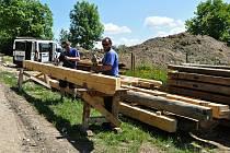 Ve Valašském muzeu v přírodě v Rožnově pod Radhoštěm budují nový areál zaměřený s názvem Kolibiska