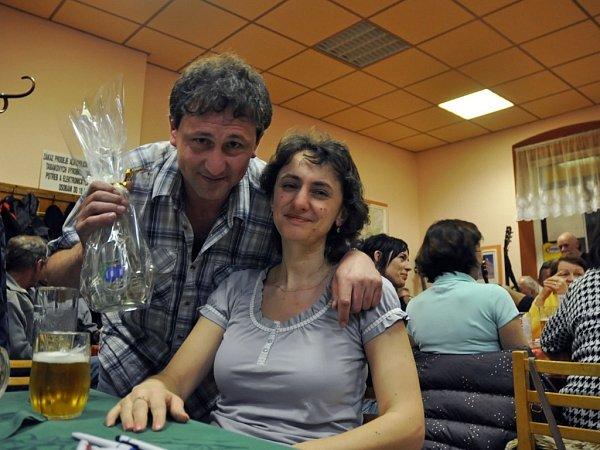 Eva a Luboš Pavelkovi soutěžili vklání Onejlepší dršťkovou polévku už vloni. Zvítězili, stejně jako letos.