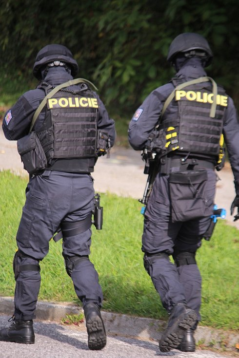 Starý Hrozenkov – Drietoma  mezinárodní taktické cvičení policie Treinčanský  kraj a Zlínský kraj.