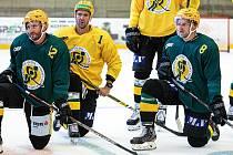 Vsetínští hokejisté v přípravě. Ilustrační foto