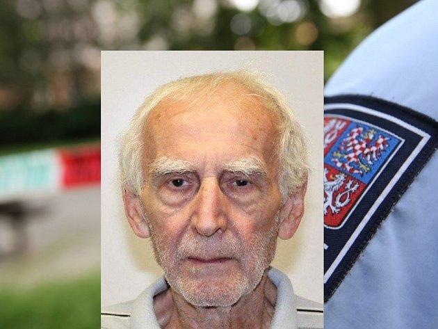 Pohřešovaný dvaaosmdesátiletý Bruno Juříček z Přerovska.
