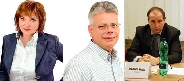 Zastupitelé Rožnova pod Radhoštěm, komunální volby 10.-11.října 2014.