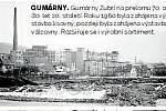 9.GUMÁRNY. Gumárny Zubří na přelomu 70. a 80. let 20. století. Roku 1960 byla zahájena výstavba lisovny, později byla zahájena výstavba válcovny. Rozšiřuje se i výrobní sortiment.