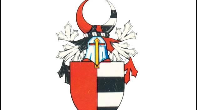 Erb starobylého moravského rodu Prusinovských z Víckova. Ilustrační foto.
