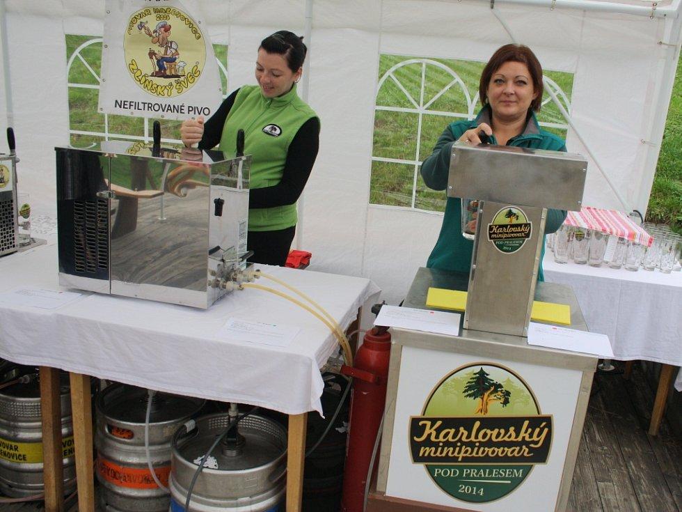 19 různých piv mohli ochutnat v penzionu Pod Pralesem.