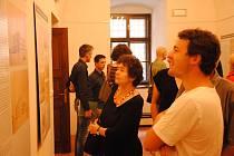 Zahájení výstavy Neuskutečněné stavby v Muzejním a galerijním centru v zámku Žerotínů ve Valašském Meziříčí; středa 7. srpna 2019